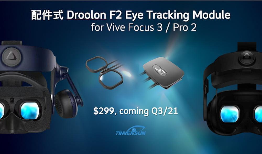 Vive Pro 2 & Vive Focus 3: Eye-Tracking-Modul angekündigt