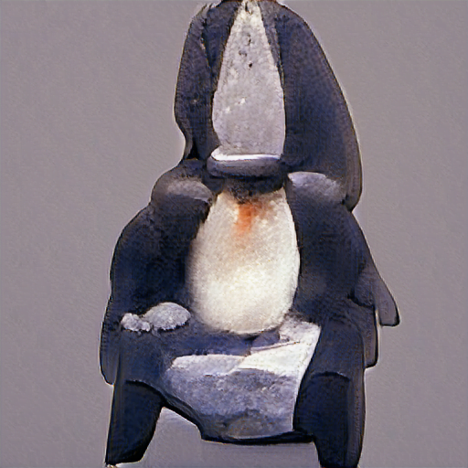"""""""a sitting penguin"""""""