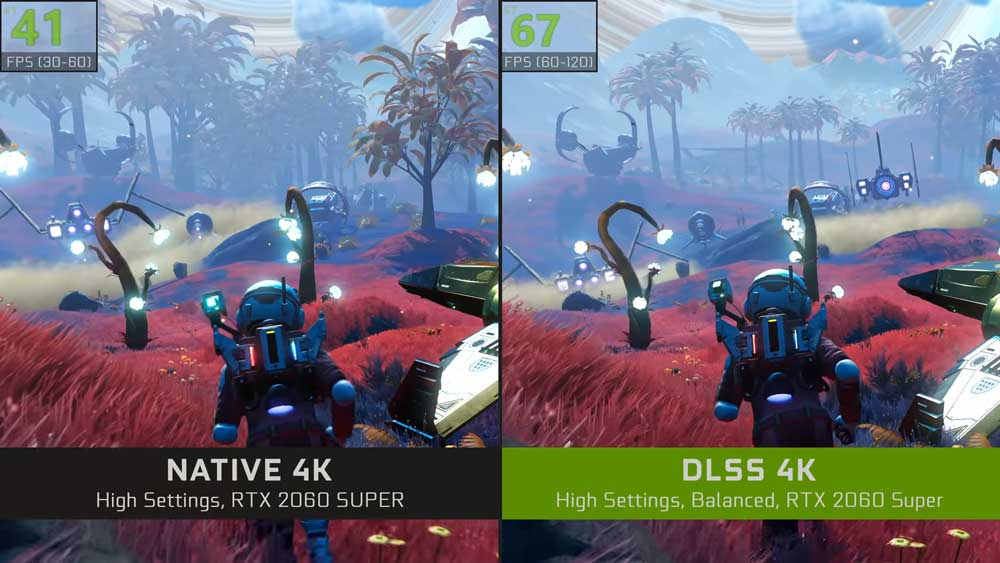 DLSS: Nvidia bringt KI-Grafik für No Man's Sky VR und mehr