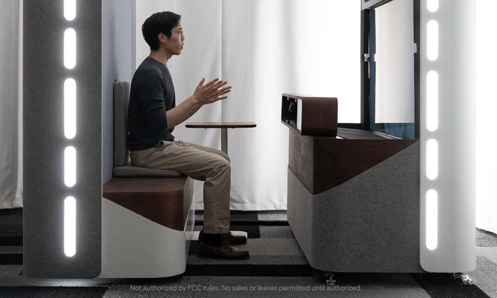 Googles XR-Chef Clay Bavor sieht den Starline-3D-Videochat als Tech-Brillenalternative für Telepräsenz. | Bild: Google