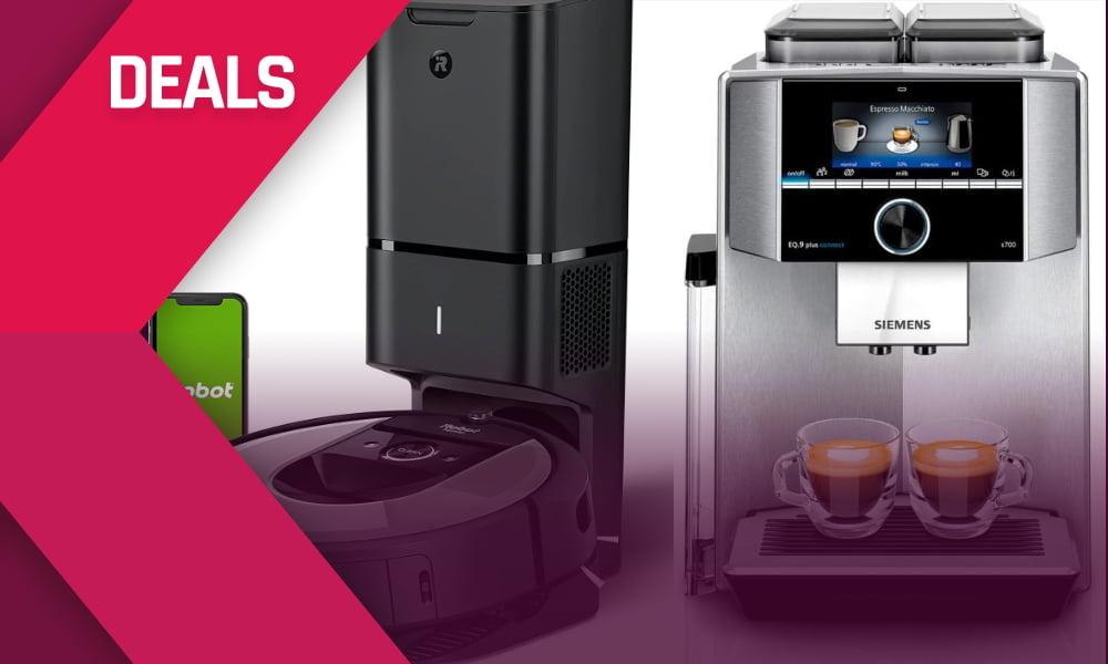 Smart-Home-Deals: Alexa-Kaffeeautomat über 1.000 Euro billiger