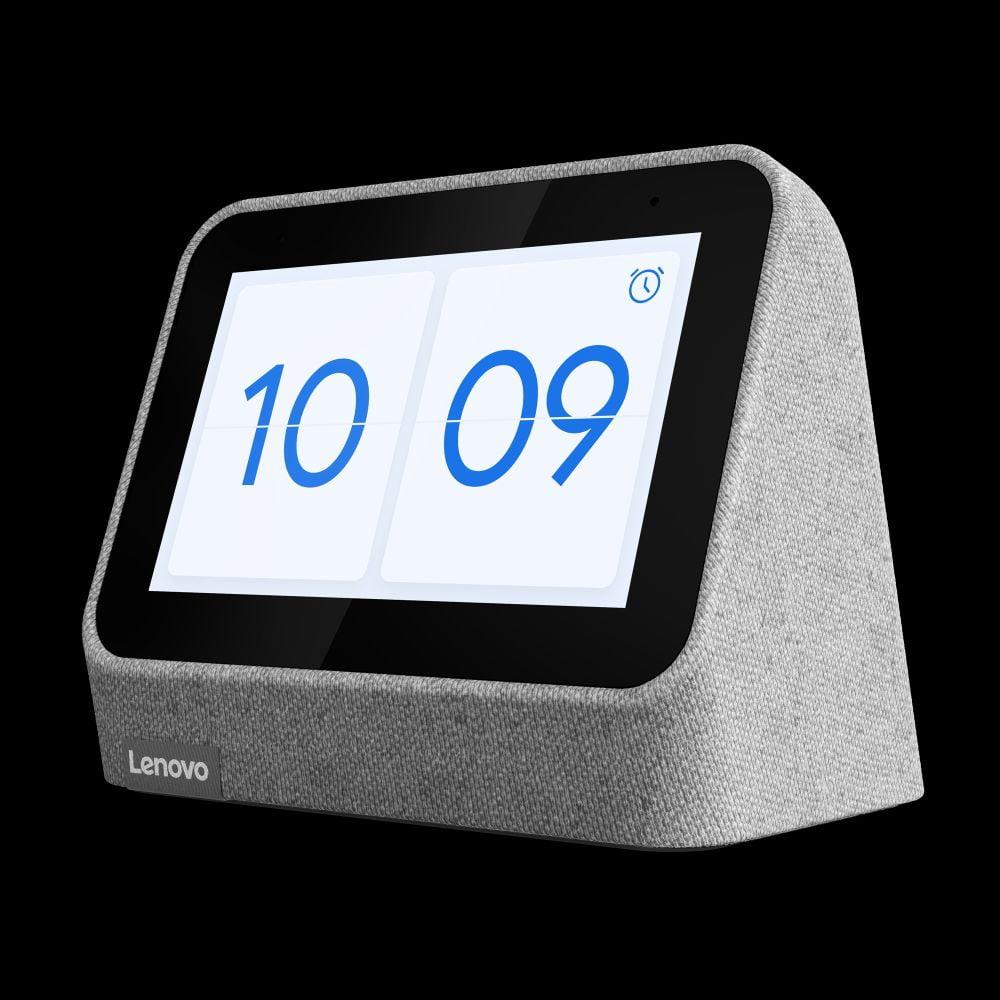 Die Lenovo Smart Clock 2 mit Google Assistant-Integration.