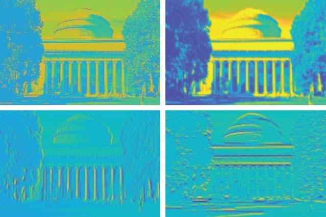 Der KI-Chip beherrscht bereits einfache Bildverarbeitung. | Bild: MIT