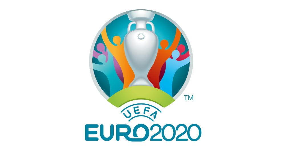 Das Logo der UEFA Euro 2020 Fußball Europameisterschaft.