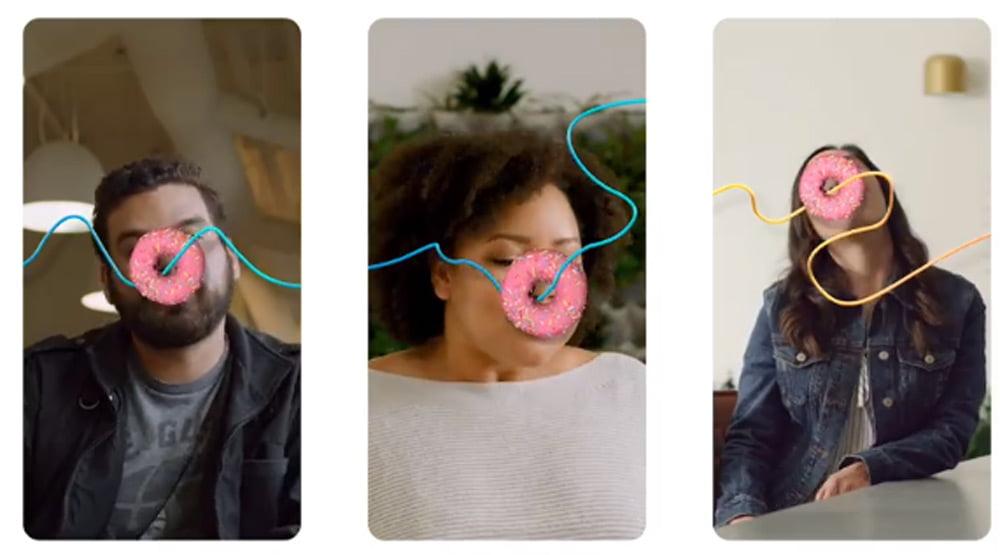 Die neue Schnittstelle kann auch für einfache Multiplayer-AR-Spiele eingesetzt werden. | Bild: Facebook
