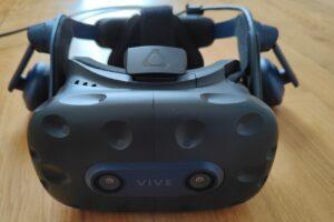 VR-Brille HTC Vive Pro 2 von vorne