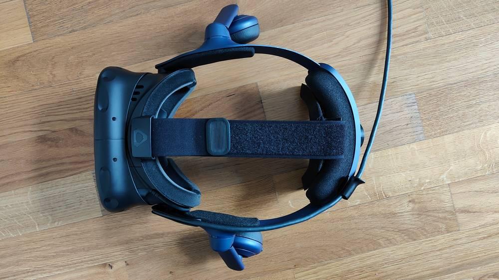 VR Brille HTC Vive Pro 2 von oben