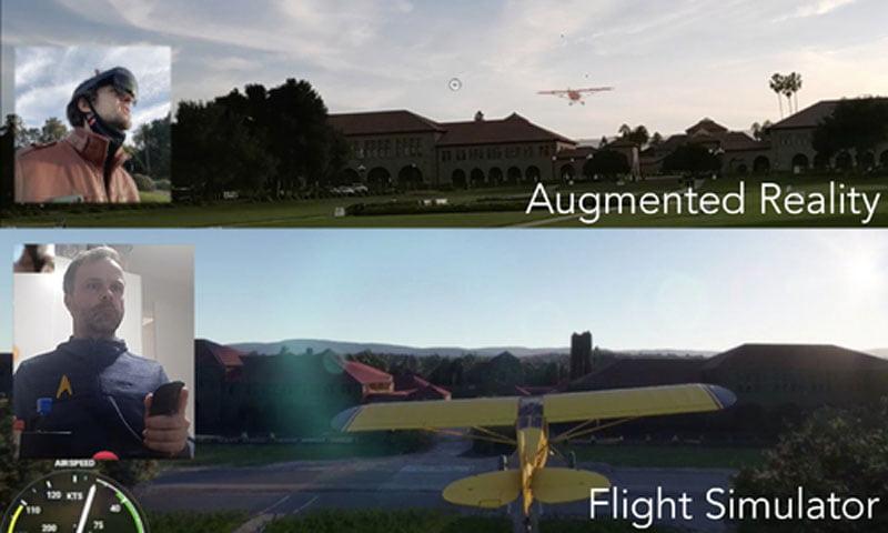 Durchkreuzen virtuelle Flieger bald den realen Himmel?
