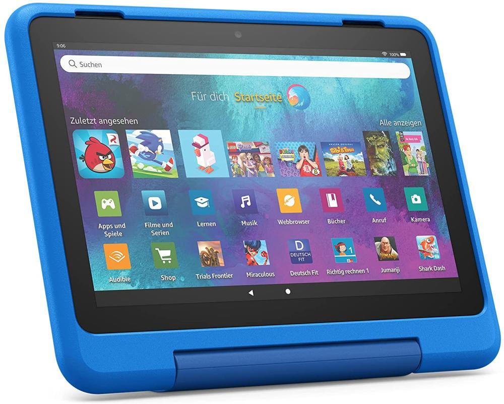 Amazon bietet auch in Deutschland kindgerechte Geräte wie das Fire HD 8 Kids-Tablet an.