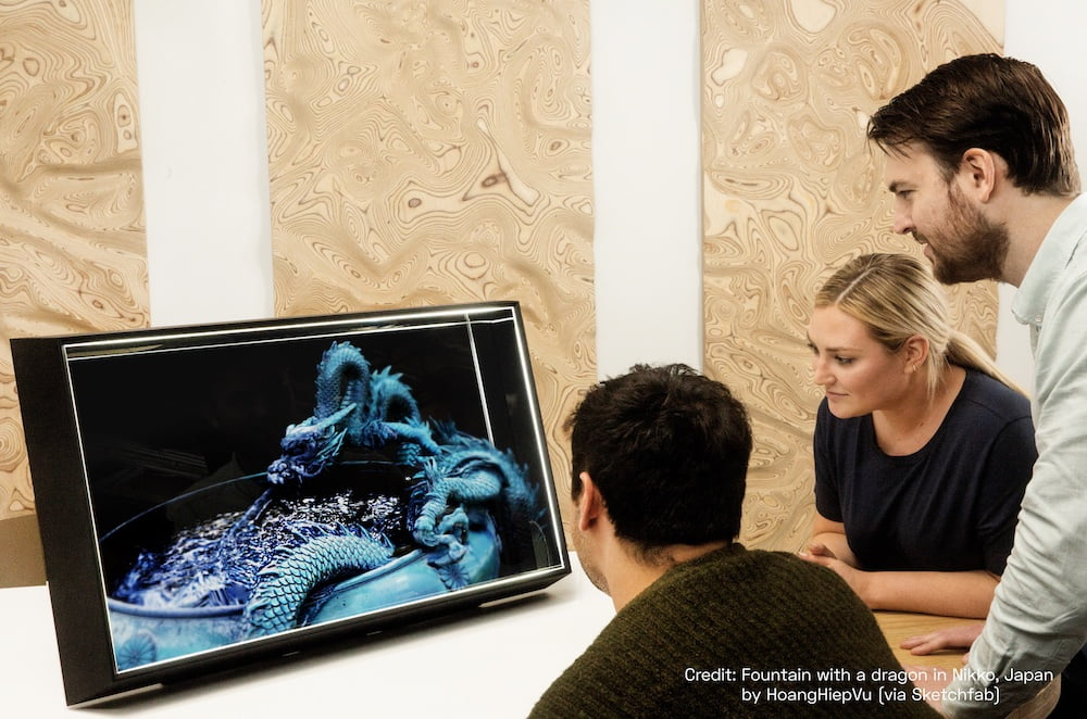 Holo-Display: Looking Glass launcht neue 4K- und 8K-Geräte