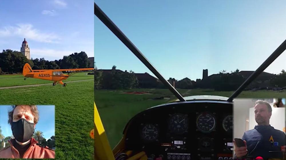 Microsoft Flight Simulator AR: Digitale Flugzeuge fliegen durch realen Himmel