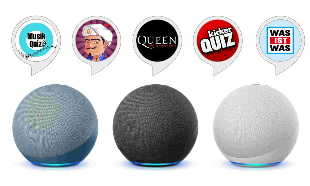 Amazon Alexa: Die besten Quiz- und Ratespiele 2021 für Echo