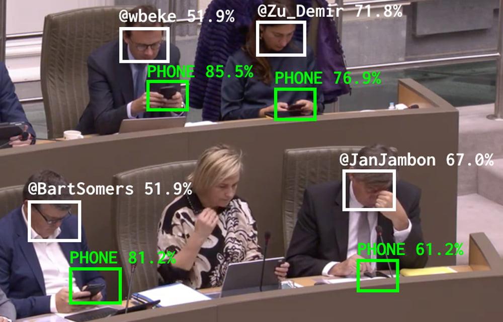 KI-Überwachung mal anders: KI prüft unaufmerksame Politiker