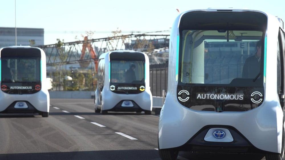 Toyota setzt autonom fahrende Busse bei Olympiade in Tokyo ein