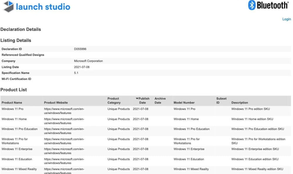 Microsoft will ein Bluetooth Zertifikat für Windows 11 Mixed Reality. | Bild: via MSPoweruser