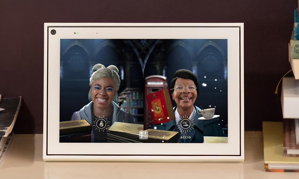 Bei Harry Potter AR für Portal erprobt Facebook eine neue Multinutzer-AR-Technologie, die geteilte, synchrone AR-Effekte für mehrere Nutzer an verschiedenen Standorten ermöglicht. | Bild: Facebook