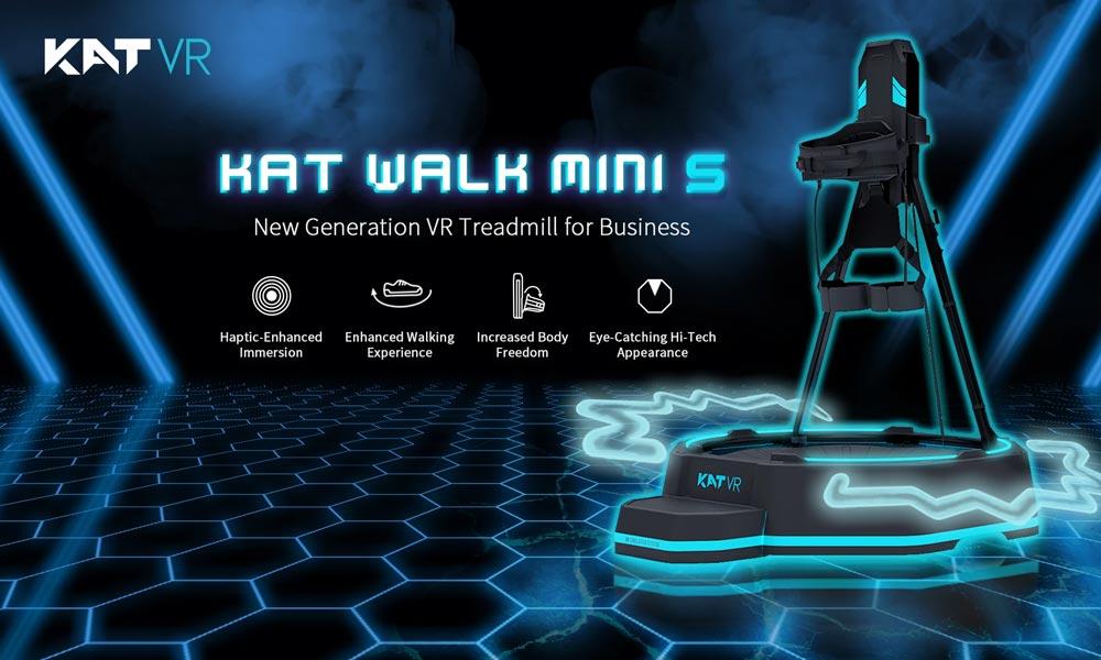 KAT Walk Mini S: VR-Laufband für Unternehmen und Arcades