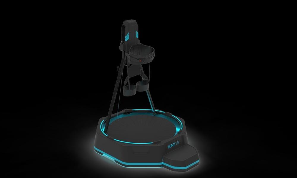 Für das Katwalk Mini S verspricht Kat VR besseres haptisches Feedback, mehr Bewegungsfreiheit und ein natürlicheres Laufgefühl.   Bild: Kat VR