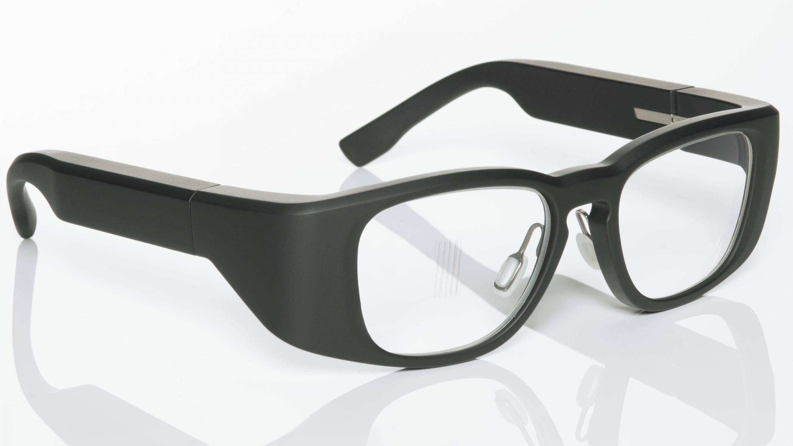 tooz Smartbrille von links vorne