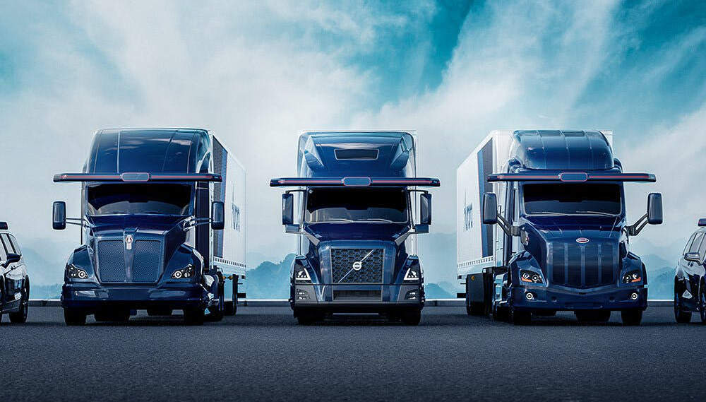 Autonom fahrende Trucks: Diese 3 Start-ups wollen liefern