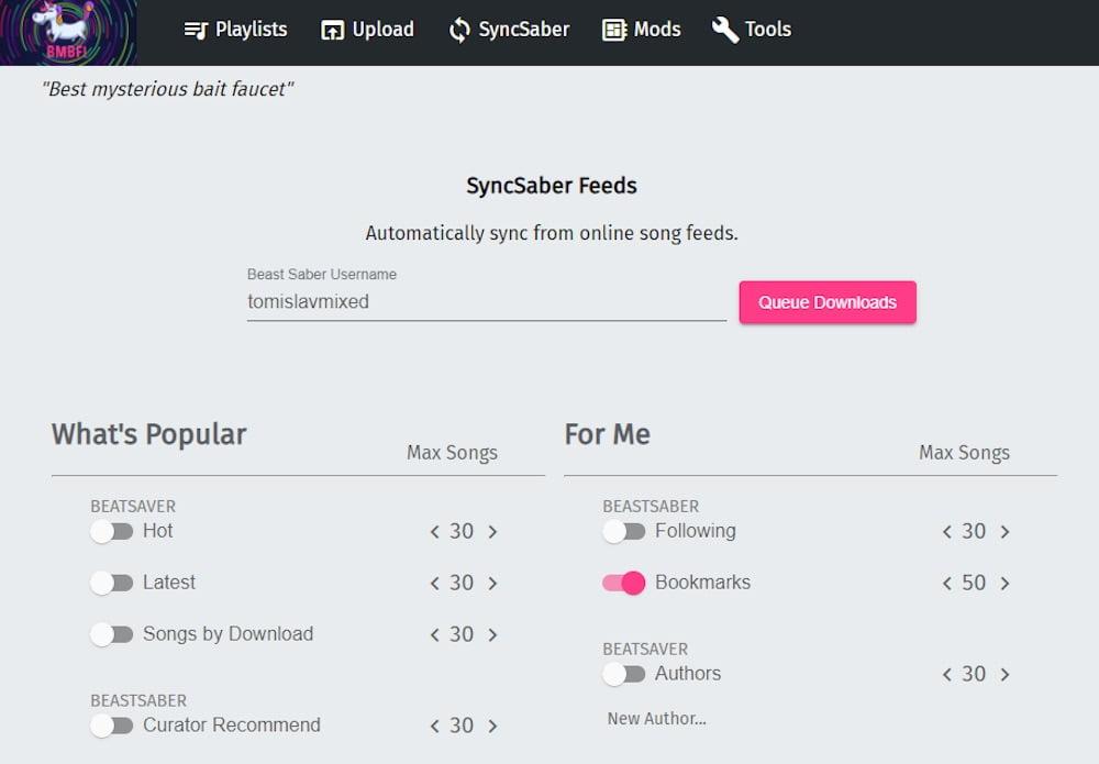 Beat_Saber_Custom_Songs_BMBF_Interface