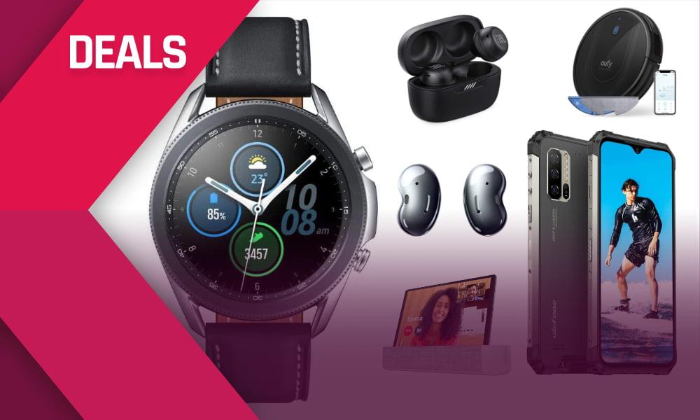 Deals: Samsung Galaxy Watch 3 fast 250 Euro billiger