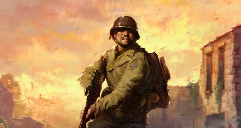 Medal of Honor: Above and Beyond Alliierter Soldat mit Gewehr