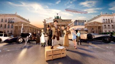 Berlin vor 100 Jahren: VR-Zeitreise entführt in historische Metropole