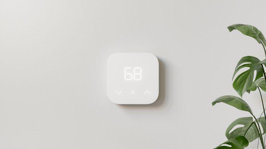 Das Amazon Smart Thermostat entstand in Kooperation mit Honeywell.