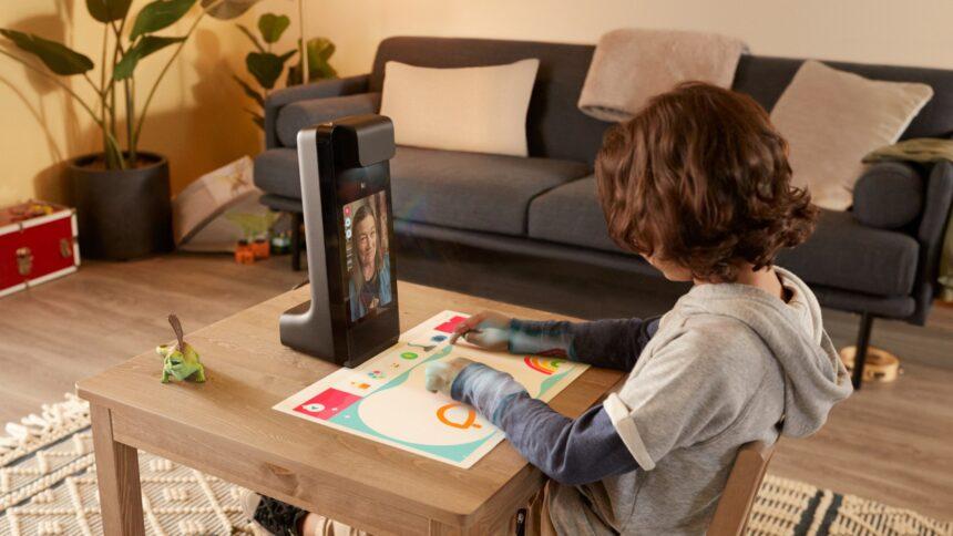 Amazon Glow ermöglicht Videotelefonie und gleichzeitiges Spielen.