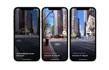 iPhone: Apple launcht Augmented-Reality-Navigation