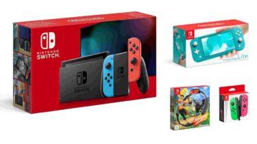 Deals: Nintendo Switch & Nintendo Switch Lite stark im Preis gesenkt