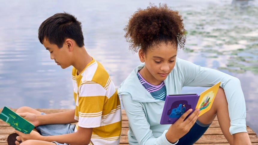 Auch die jungen Leser und Leserinnen will Amazon mit einer neuen Kids Edition des Kindle Paperwhite erreichen.