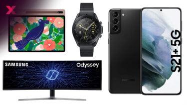 Galaxy S21+ deutlich reduziert – viele Samsung-Angebote bei Amazon