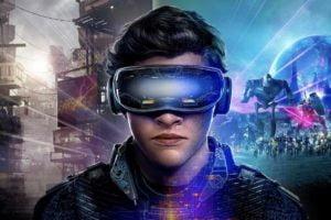 Ready Player One Concept Art Wade Watts mit VR-Brille