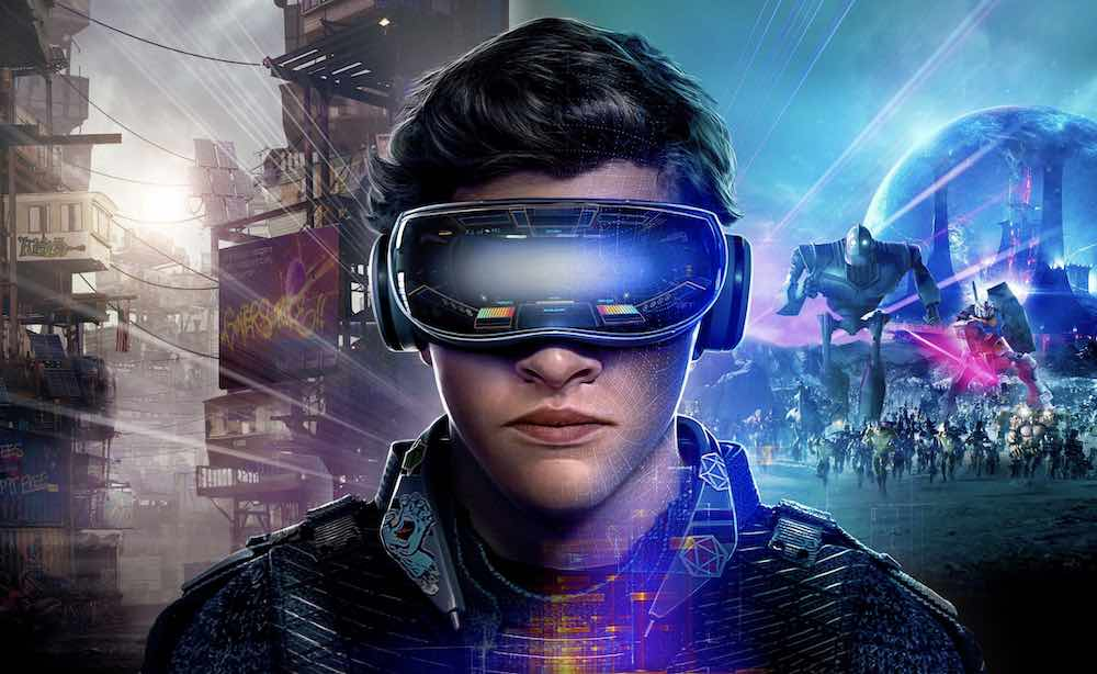Ready Player One Concept Art Wade Watts mit VR-Brille