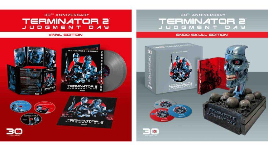 Die Terminator 2 30th Anniversary Editions von Studiocanal.
