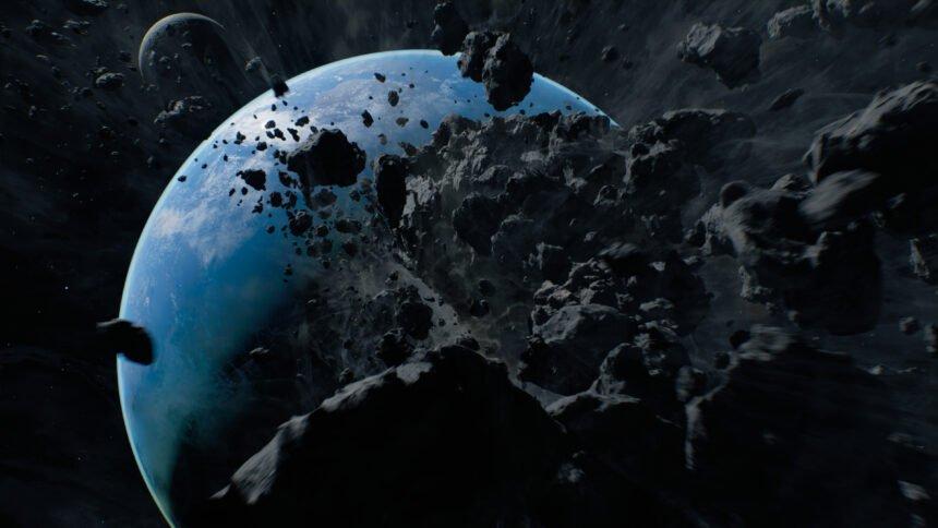 VR_Film_Genesis_Meteorit_rast_auf_Erde_zu