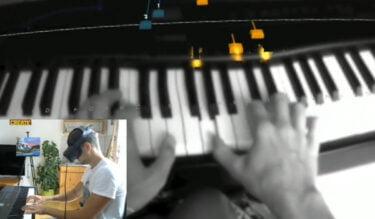 Quest 2: AR Piano-App ist wie Guitar Hero fürs Klavier