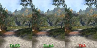 Nvidia DLAA: KI-Kantenglättung im Vergleichsvideo