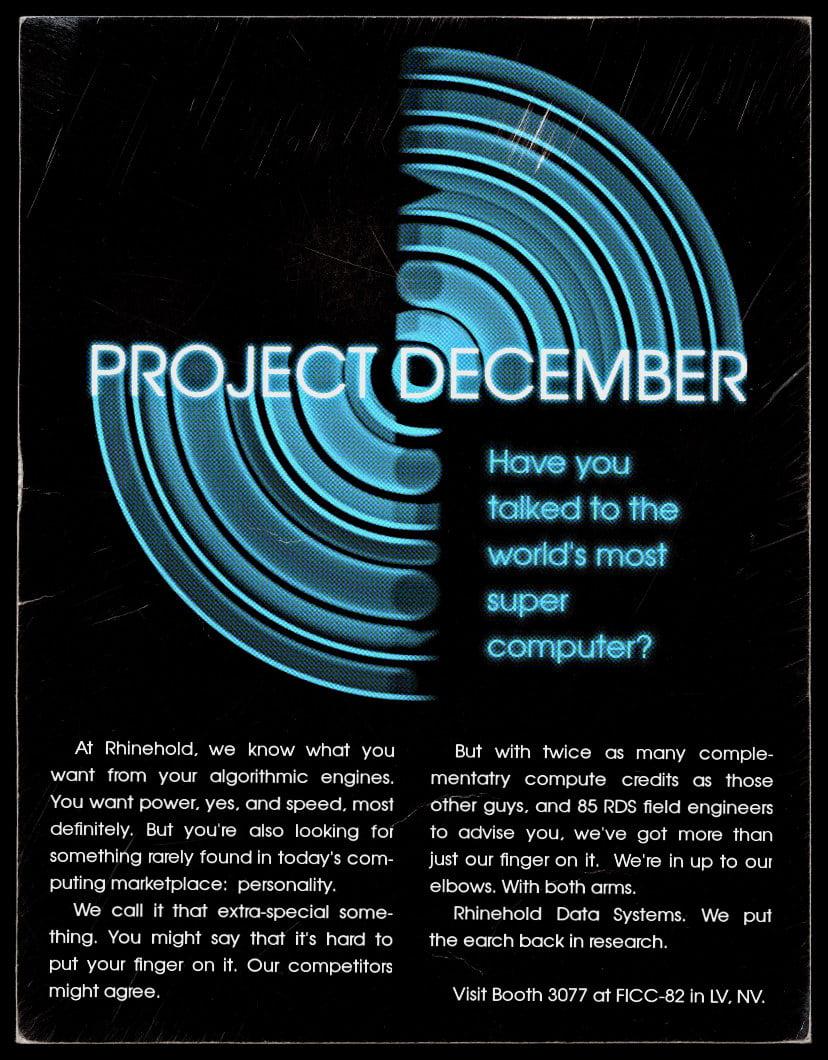 Das Logo von Project December