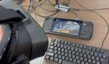 Steam Deck: Erste VR-Technikdemo mit Valve Index