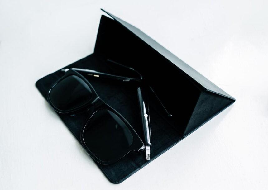 Ankers Audio-Brille Soundcore Frames sieht beinahe aus, wie eine normale Sonnenbrille.