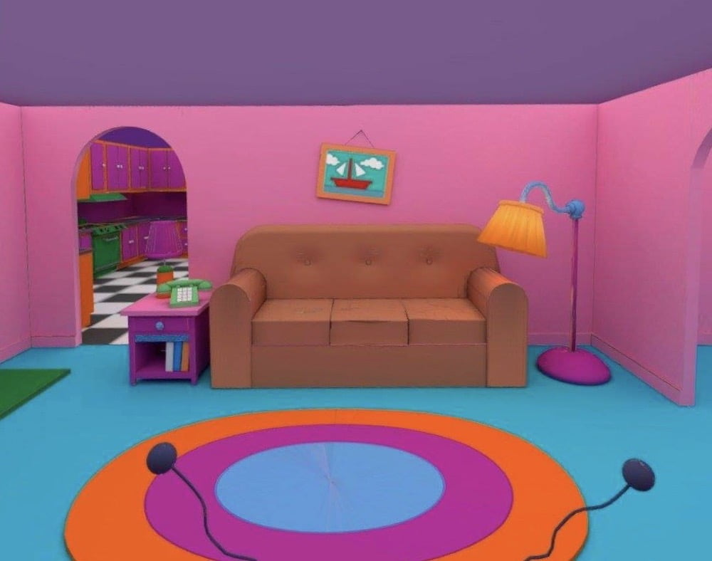 Custom_Quest_Home_Simpsons_Room_Couch