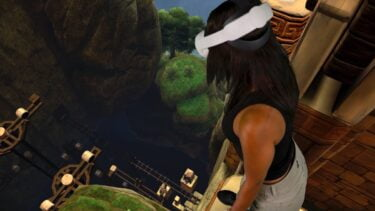 """Roomscale-VR neu erfunden: """"Eye of the Temple"""" im Test"""