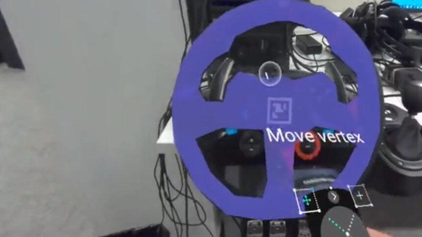 Mit den Varjo Lab Tools lassen sich physische Objekte blitzschnell in die Virtual Reality übertragen. Wie funktioniert das Real-Time-Masking?