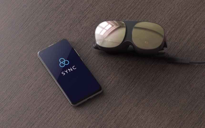 Vive_Flow_mit_Smartphone