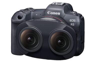 Canon stellt neues Objektiv für 3D VR-Videos vor