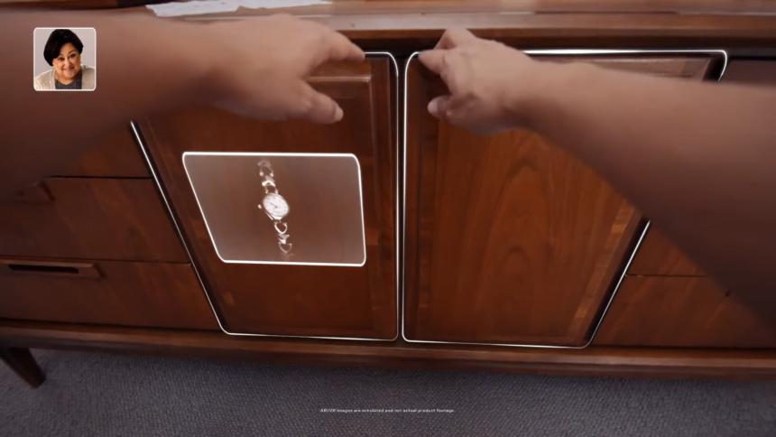 Mit Ego4D trainierte KIs könnten sich etwa merken, wo ein bestimmtes Objekt abgelegt wurde - und dann mit visueller AR-Hilfe den Suchenden zum Objekt leiten.