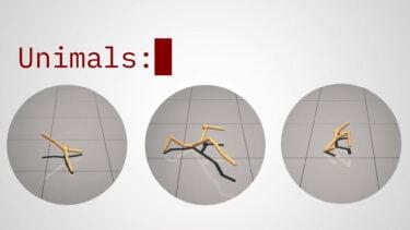 Unimals: Was künstliche Evolution über die KI-Zukunft verrät